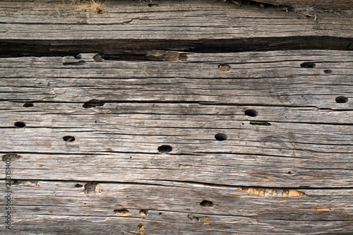 Brown color wooden wall texture.