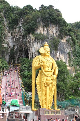 KUALA LUMPUR, MALAYSIA, JANUARY 2017: Batu caves Canvas Print