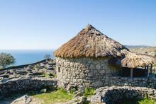 Ruins Of Castro De Santa Trega, Pontevedra, Galicia, Spain.