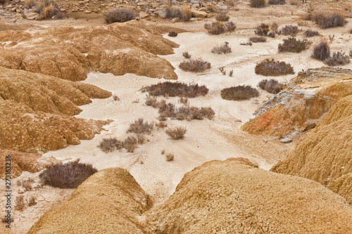Bardenas Reales, Navarra, Spain, Europe Canvas Print