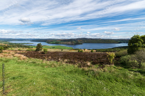 Fotografie, Obraz Dornoch Firth from Struie Hill viewpoint on the B9176, Easter Ross, Highland, Sc