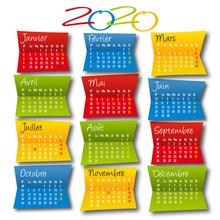 Calendrier Décoratif 2020 En