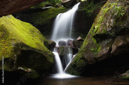 Staande foto Watervallen Smoky Mountain Waterfall