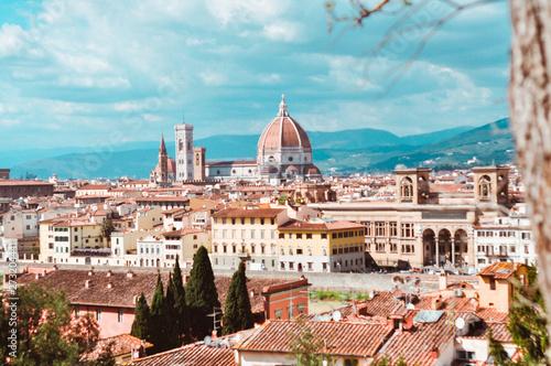 Photo Stands Florence travel; italy; firenze; view; florença;
