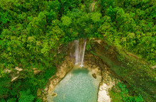 Aerial View Of Camugao Waterfa...