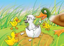 Children's Fairy Tales Ugly Du...