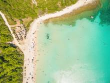Aerial View Of Sakarun Bay On ...