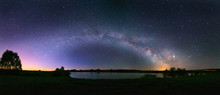 Night Panorama Of The Arch Of ...