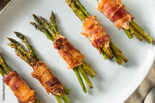 Homemade Bacon Wrapped Asparagus