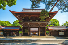 Main Hall Of Meiji Shrine In T...