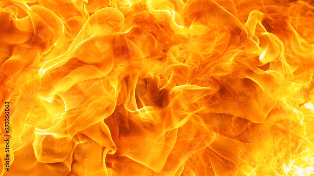 Fototapety, obrazy: abstract blow up blaze, flame, fire element for use as a texture background design concept
