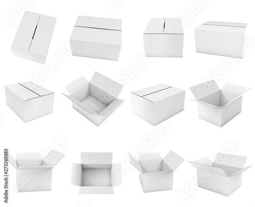 White box Fototapete