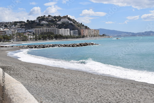 Playa de Almuñecar 2019 Fototapet