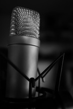 Condensor Microphone In Studio...