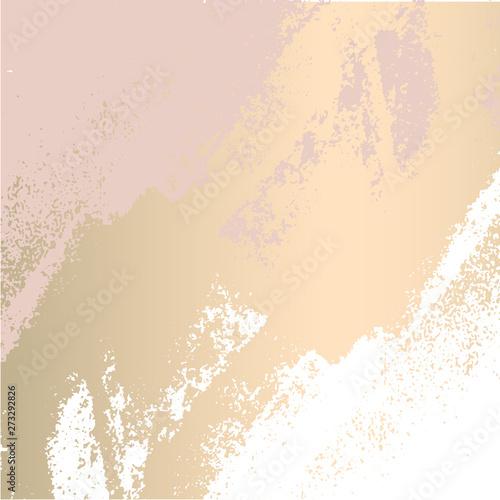 trendy blush pink gold feminine pastel texture background Canvas-taulu