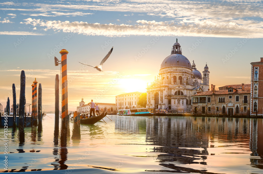 Fototapety, obrazy: Gand Canal in Venice