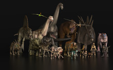 Almost All Dinosaurs Together ...