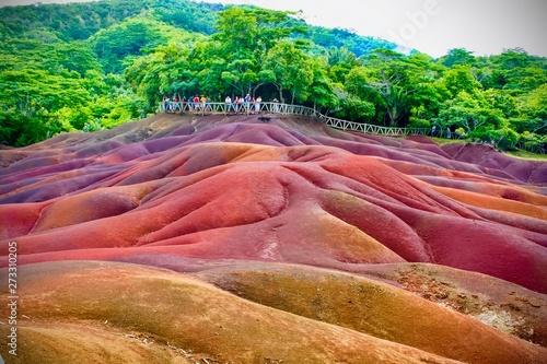 Fototapeta 7 coloured Earth in Mauritius
