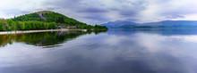 Panoramic Image Of Beautiful T...