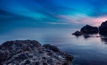 Sunset Sea. Foros Crimea Ukraine 2019