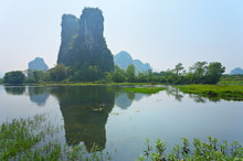 Unusual Landscape Of The Chine...