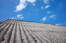 Roof Made Of Carcinogenic Asbe...