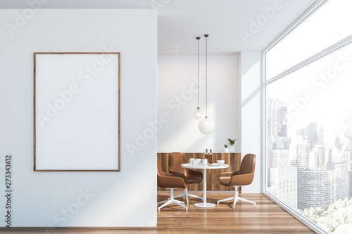 Poster in white Scandinavian dining room - 273343612