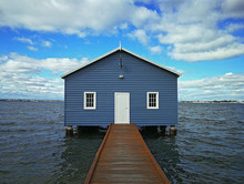Crawley Edge Boatshed-Blue Boa...