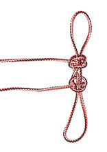 Two Hearts That Beat As One (olympic) Knot On Rope