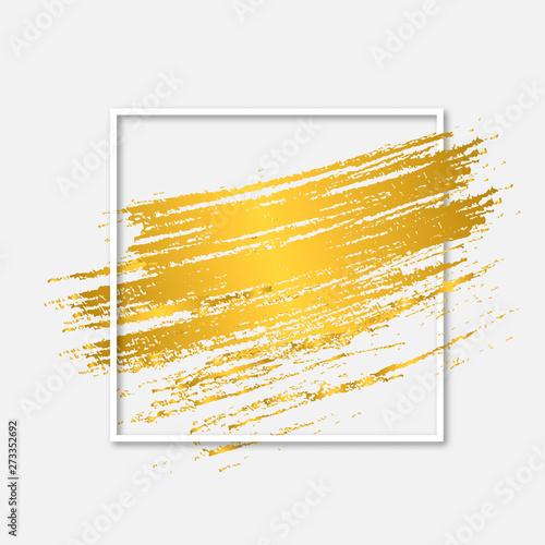 zloty-pedzel-z-iskierkami-w-bialej-kwadratowej-ramce-nowoczesne-abstrakcyjne-tlo-metaliczna-tekstura-farby-gradientowej-kreatywny-szablon-wektor-dla-projektow