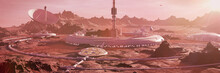 Station On Mars Surface, First...
