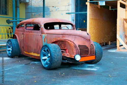 Fotografie, Obraz Rat-Look Style Car
