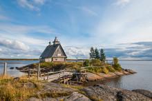 Russian Landscape. Russian Nor...