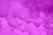 Leinwandbild Motiv Wolken ziehen im Frühlings am Himmel vorüber.