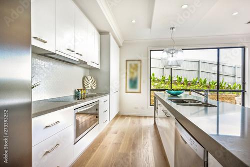 An impressive kitchen décor Fototapeta