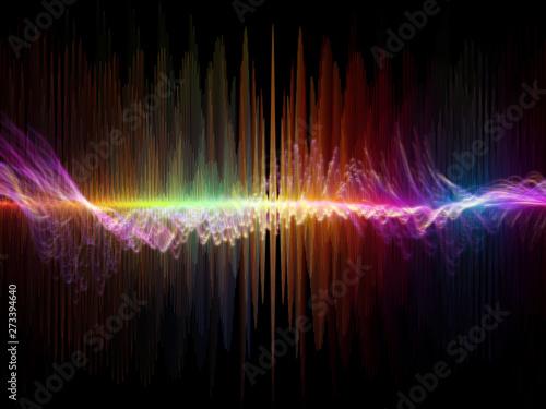 Obraz na plátně  Conceptual Oscillation