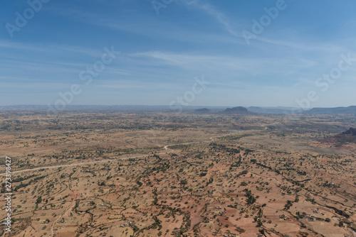 エチオピア 荒野 原風景