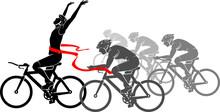 Bicycle Racing Event, Winning ...