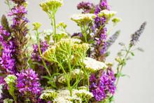 Summertime Wildflowers In Vase