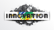 INNOVATION Word On Paper Cut L...