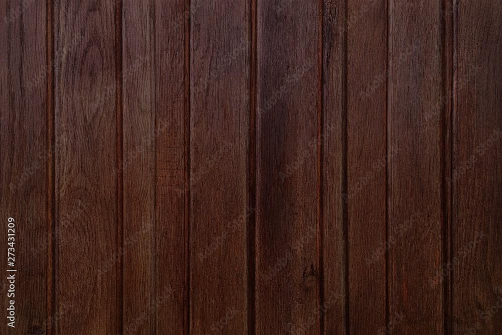 Fototapeta brown wood texture, dark wooden abstract background - obraz na płótnie