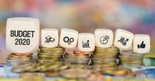 Budget 2020 / Münzenstapel Mi...