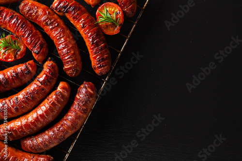 Fototapeta Grilled sausages obraz