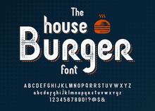 Vintage Typeface Design.