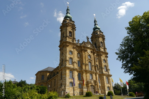 Fotografering Basilika Vierzehnheiligen