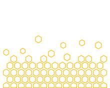 Honeycomb Background Texture Illustration Concept Design