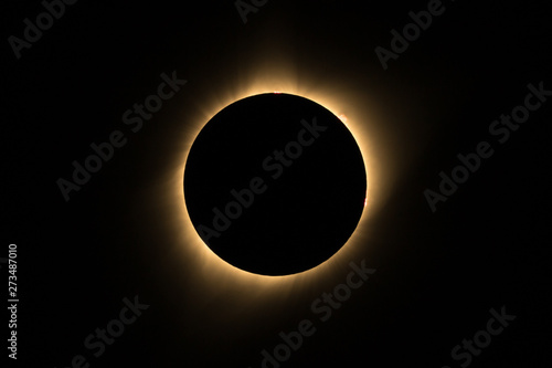 solar eclipse - 273487010