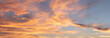 canvas print picture - Sky and clouds