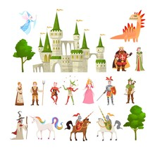 Fairytale Characters. Fantasy ...