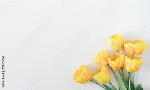 Canvas Print Beautiful composition of spring flowers